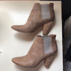 Sigerson Morrison Gray Booties